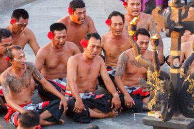 Danza Kecak Bali Uluwatu